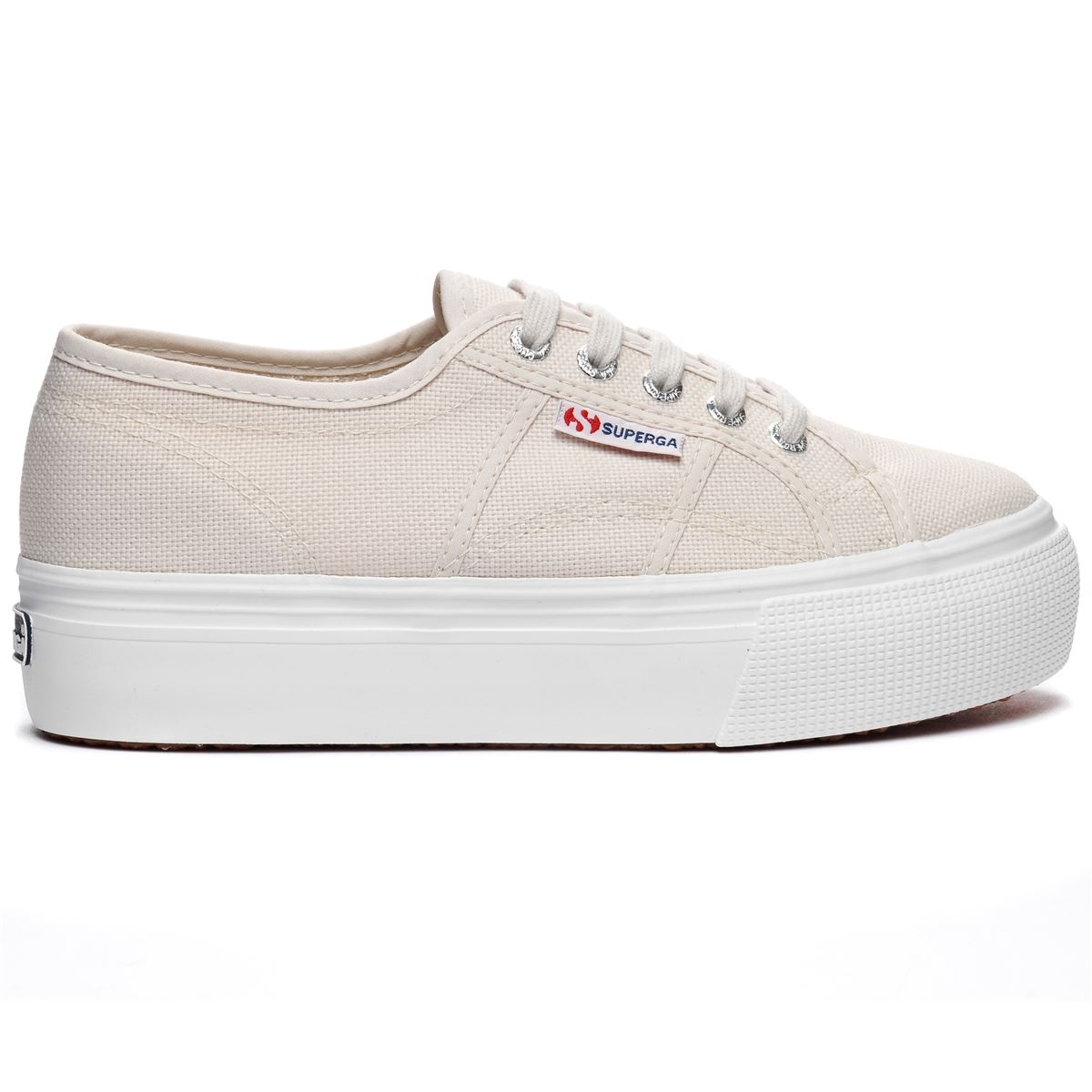 SUPERGA 2790 zeppa 4cm Scarpe DONNA tela 2790ACOTW LINEA UP AND DOWN acotw 901kx