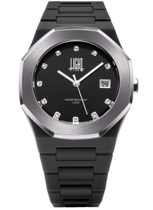 LT Orologio Light Time Velvet L505B Orologio unisex movimento quarzo myota