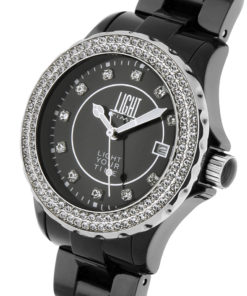 LT Orologio Light Time Black Or White L071C Orologio donna movimento quarzo