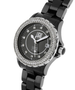 LT Orologio Light Time Black Or White L073C Orologio donna movimento quarzo