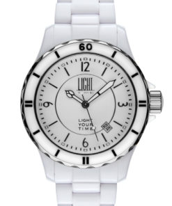 LT Orologio Light Time Black Or White L112A Orologio unisex movimento quarzo
