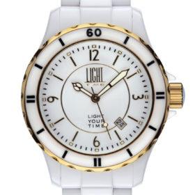 LT Orologio Light Time Black Or White L112B Orologio unisex movimento quarzo