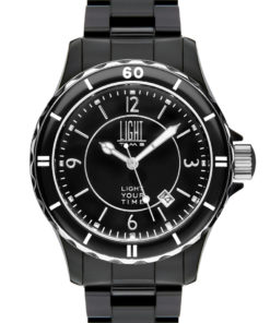 LT Orologio Light Time Black Or White L112C Orologio unisex movimento quarzo