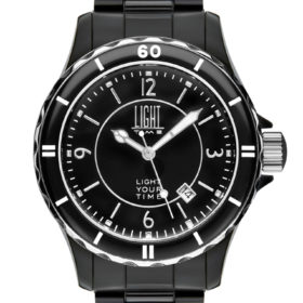 LT Orologio Light Time Black Or White L112C Orologio unisex movimento quarzo