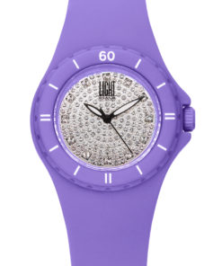 LT Orologio Light Time Silicon strass L122-LI Orologio donna movimento quarzo