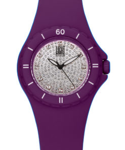 LT Orologio Light Time Silicon strass L122-VI Orologio donna movimento quarzo