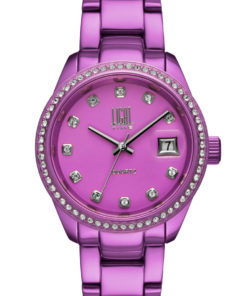 LT Orologio Light Time Aluminium L155-LI Orologio donna movimento quarzo Myota