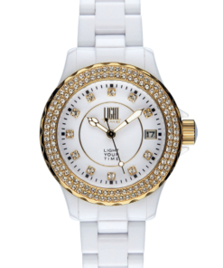 Orologio Black Or White L073B LIGHT TIME donna movimento quarzo myota Cassa