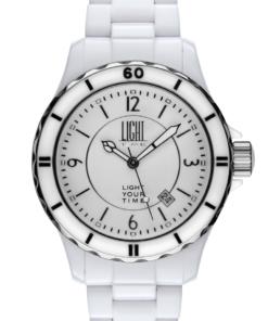 Orologio Black Or White L112A LIGHT TIME unisex movimento quarzo myota Cassa