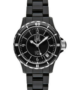 Orologio Black Or White L114C LIGHT TIME unisex movimento quarzo myota Cassa