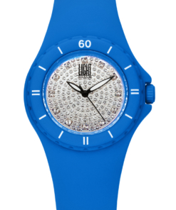 Orologio Silicon strass L122-AZ LIGHT TIME donna movimento quarzo Myota cassa