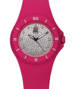 Orologio Silicon strass L122-FU LIGHT TIME donna movimento quarzo Myota cassa