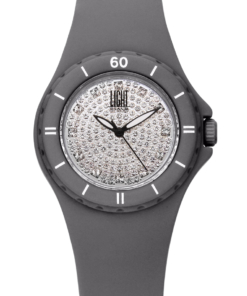 Orologio Silicon strass L122-GR LIGHT TIME donna movimento quarzo Myota cassa