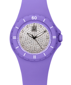 Orologio Silicon strass L122-LI LIGHT TIME donna movimento quarzo Myota cassa