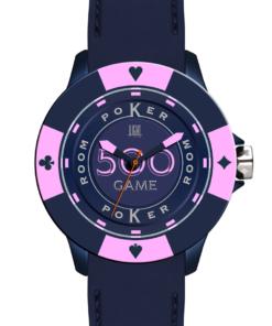 Orologio Poker Game L147-HS LIGHT TIME Unisex movimento quarzo Myota cassa