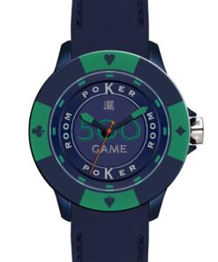 Orologio Poker Game L147-LS LIGHT TIME Unisex movimento quarzo Myota cassa