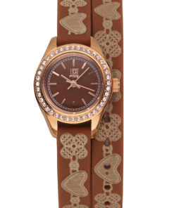 Orologio Rococu00f2 L163-E LIGHT TIME donna movimento quarzo Myota cassa