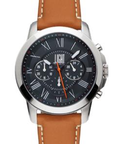 Orologio Texas L192C LIGHT TIME Cronografo movimento quarzo myota Cassa acciaio