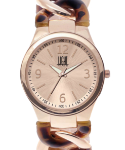 Orologio Firenze L207-E LIGHT TIME donna movimento quarzo Myota cassa metallo