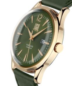Orologio Vintage L401G-P4 LIGHT TIME Unisex movimento quarzo Myota cassa
