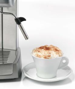 Ariete Macchina per caffè espresso in metallo per polvere e cialda 1324 Linea Metal