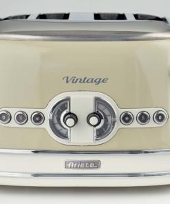 Ariete Toaster Vintage 4 fette beige Tostapane