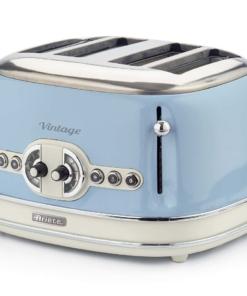 Ariete Toaster Vintage 4 fette celeste Tostapane