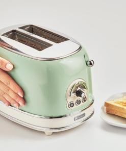 Ariete Toaster Vintage 2 fette verde Tostapane