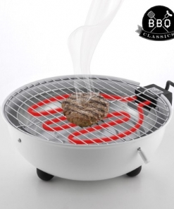 Barbecue Elettrico da Interno Con Sistema Antifumo
