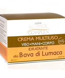 Crema multiuso alla bava di lumaca mani viso corpo made in Italy