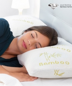 Cuscino anticervicale in Memory Foam e fibra di Bamboo