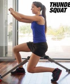 Panca Fitness Per Rafforzamento Muscolare Thunder Squat