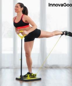 Pedana Fitness Per Allenamento di Gambe Glutei e Braccia