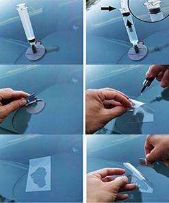 Kit di Riparazione Vetri Auto Visbella
