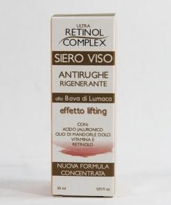 Siero viso antirughe alla bava di lumaca con acido ialuronico